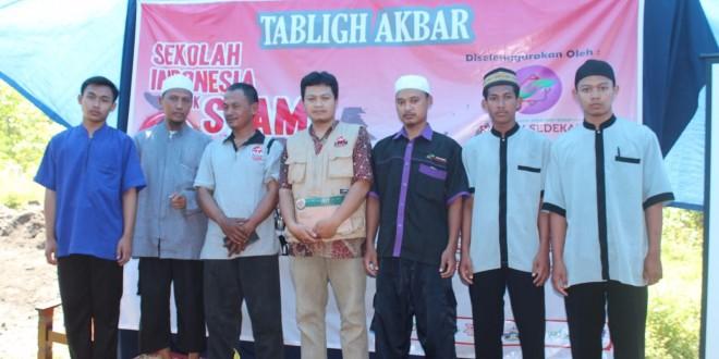 Tim Rumah Sedekah bersama Ust Dede Nurjanata  dan Tim Syam Organizer
