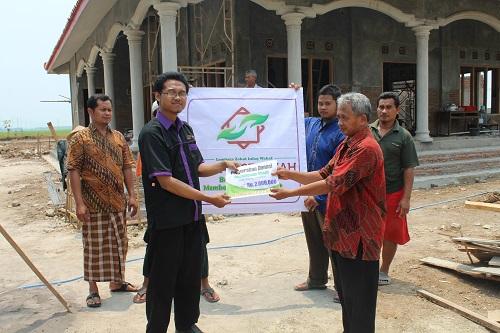 Santunan Pembangunan Masjid